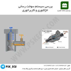سوخت رسانی انژکتور و کاربراتور | تعمیر ایسیو