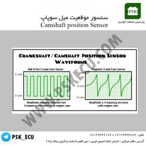 تولید موج مربعی سنسور موقعیت میل سوپاپ | آموزش تعمیرات ecu