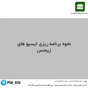 آموزش تعمیرات ECU - نحوه برنامه ریزی ایسیو های زیمنس