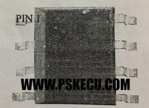 آموزش تعمیرات ecu - قرارگیری آی سی 8 پایه