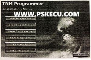 آموزش تعمیرات ecu - نصب پروگرامر TNM