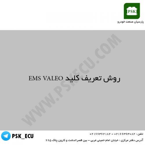 آموزش تعمیرات خودرو - روش تعریف کلید EMS VALEO